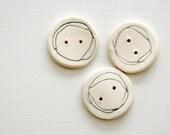 orbit Ceramic Buttons dove grey