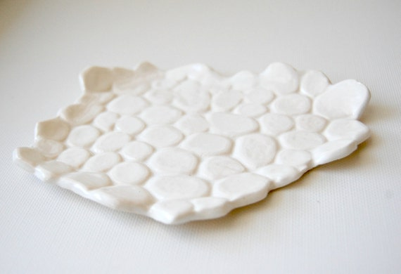 pebble Ceramic Soap or Anything Dish