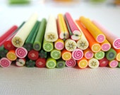 Polymer clay cane. choose 2 pieces