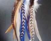 CUSTOM ORDER for Feather Earrings