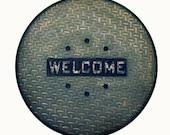 Industrial Welcome Doormat Man Gift Steampunk Anti Fatigue  Mat