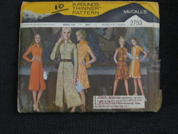 Dress Pattern With Several  Styles