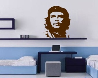 Che, revolution, vinyl Wall DECAL- interior design, sticker art, room, home and business decor