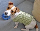 Knit and Crochet Dog Sweater PATTERN  / PDF format Pattern /  Dog clothes pattern / Knitting Pattern / Crochet pattern