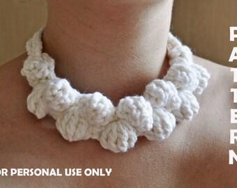 Crochet Pattern, Crochet necklace pattern, Crochet jewelry pattern, Crochet Accessories Pattern, memorial day sale