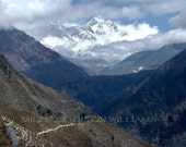 Everest Area View & Monastery,  Ultrachrome K3 Archival Print