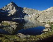 Columbine Lake, Mineral King,  Ultrachrome K3 Archival Print