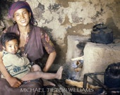 My Friend And Her Son, Nepal, Ultrachrome K3 Archival Print