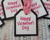 Valentines Day Gift Tags  Set of 8