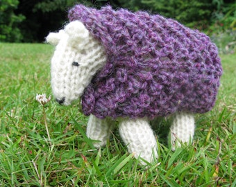 Knitting Kit - Knit your own sheep  - Heather