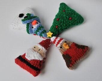 Christmas Knitties ornaments knitting pattern pdf