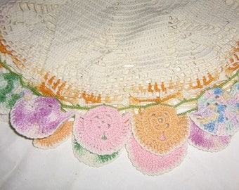Pretty Doily- A Package of 8