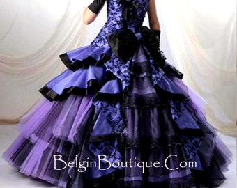 Pageant National Formal Pageant Evening Gown Design Mardi Gras Masquerade Dress Custom size 3/6m 9m 12m 2T 3T 4 5 6 7 8 9 10 yrs