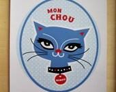 Minou French cat