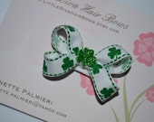 St. Patty's Day Hair Bow