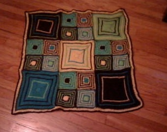 Colorful Baby / Toddler Blanket