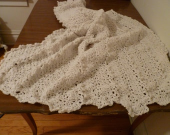 Lacy Crochet Afghan