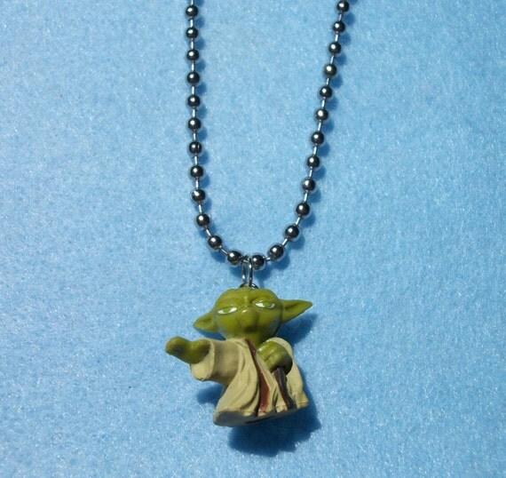 Repurposed Yoda Pendant
