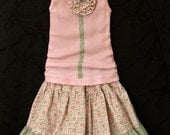 Thinking Spring . . Skirt and Tank . . .2T.3T,4T