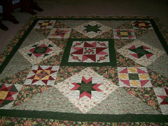 Queen Size Legacy Star Quilt  -  Price Reduced
