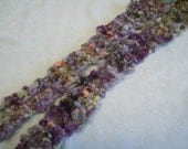 Purple Dream Skinny Scarf