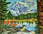 Vintage 1959 Reference and Travel Book- The Pacific Northwest- A Guide To The Evergreen Playground-US Travel Guide