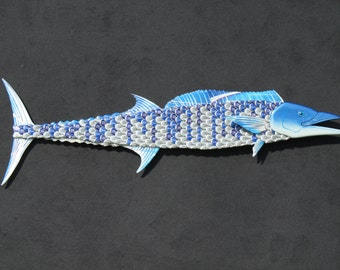 Wahoo Metal Bottle Cap Fish Wall Art