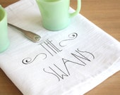 Personalized Tea Towels, Set of 3