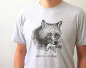 Fox Shirt - Screen Printed Unisex T Shirt