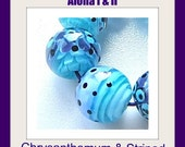Promotion-Sale: Combi Tutorials Aloha l&ll Chrysanthemum and Striped Beads Tutorial by Caroline Dousi