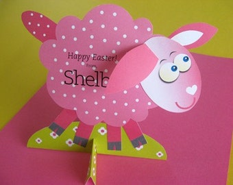 Easter Lamb Card, Craft