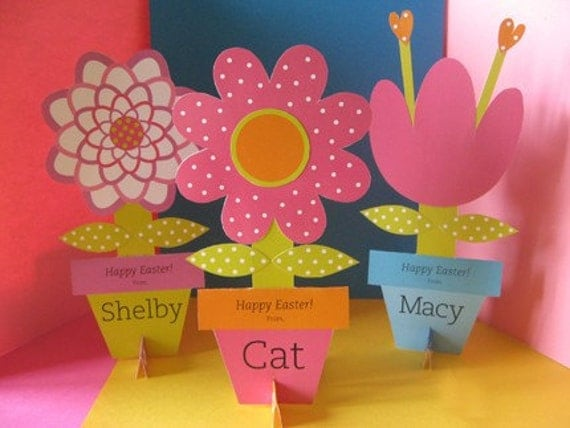 easy spring craft ideas easter flower card craft 4380
