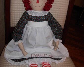Special Order, Custom Raggedy Ann Dolls, Personilized