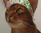 Princess Tiara with Swarovski crystals and sequins
