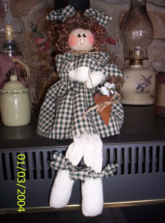 Country Shelf Sitter Doll
