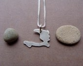 Tiny Haiti Necklace (sterling silver)