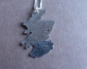 Scotland Necklace (sterling silver)