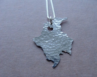 Colombia Necklace (sterling silver)