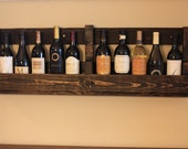 Pallet Wine Rack or Book Shelf