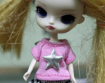 MM-164 : T-shirt and Skirt For Little Dal , Petite Blythe