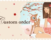 Custom Order for Meg Lawley- 20 Cherry Blossom Takeout Boxes with Matching Gift Tags
