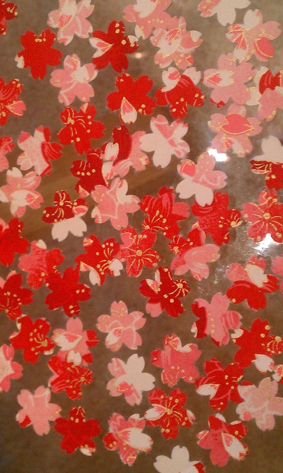 Sale-Cherry Blossom Confetti-packet of 75