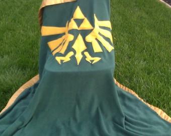 Legend of Zelda Hylian Crest Fleece Blanket