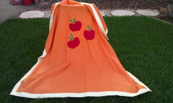 My Little Pony Friendship is Magic Applejack fleece blanket