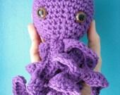 PDF CROCHET PATTERN Olivia Octopus Amigurumi