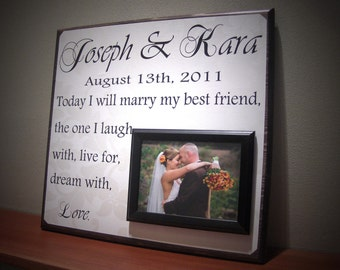 my best frien d wedding sign, wedding reception decoration, bridal ...