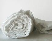 Custom quilt ... Single linen blanket / throw / coverlet ... My White Dream - LovelyHomeIdea