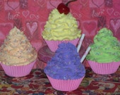 Pastel Fake Cupcakes Photo Props, Home Decor, Christmas Presents/Gifts, Tea Party Props and Picture Sessions