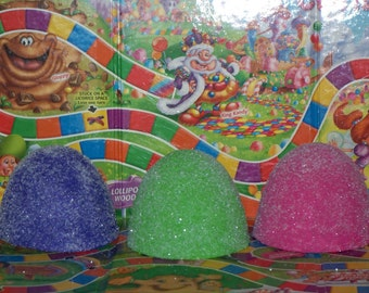 Jumbo Fake Gumdrops, Great Candy Land Birthday Party Decorations, Photo Props, Christmas Ornaments and Shop Display