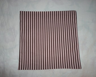 This is a set of Stripe Weaverly Designer 18 in. Pillow Covers
